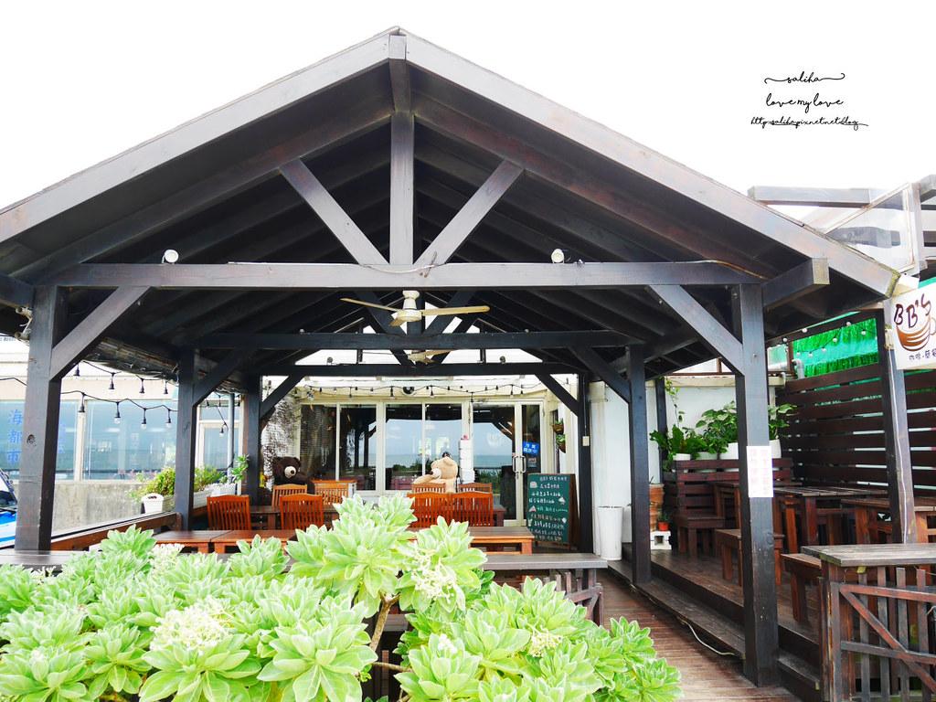 新北三芝一日遊海邊淺水灣餐廳分享推薦海景咖啡 (2)