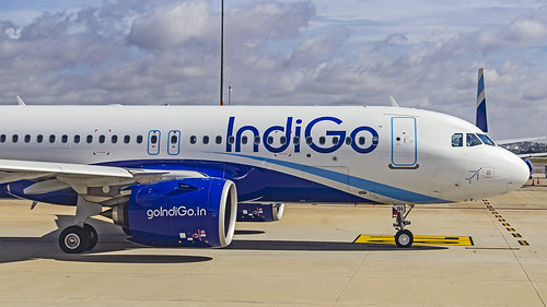 Indigo Airbus A320NEO VT-IJH Bangalore(BLR/VOBL)