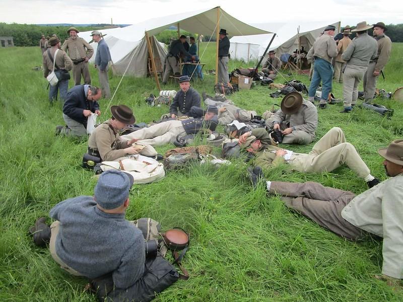 Guerre de Sécession côté Confédération. 48646245888_dc8a0ddd8f_c