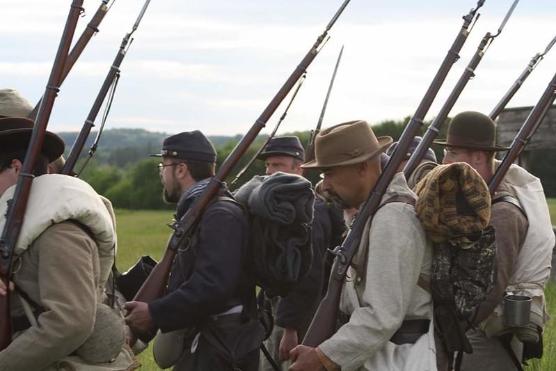 Guerre de Sécession côté Confédération. 48646245978_28e10a4c97_c