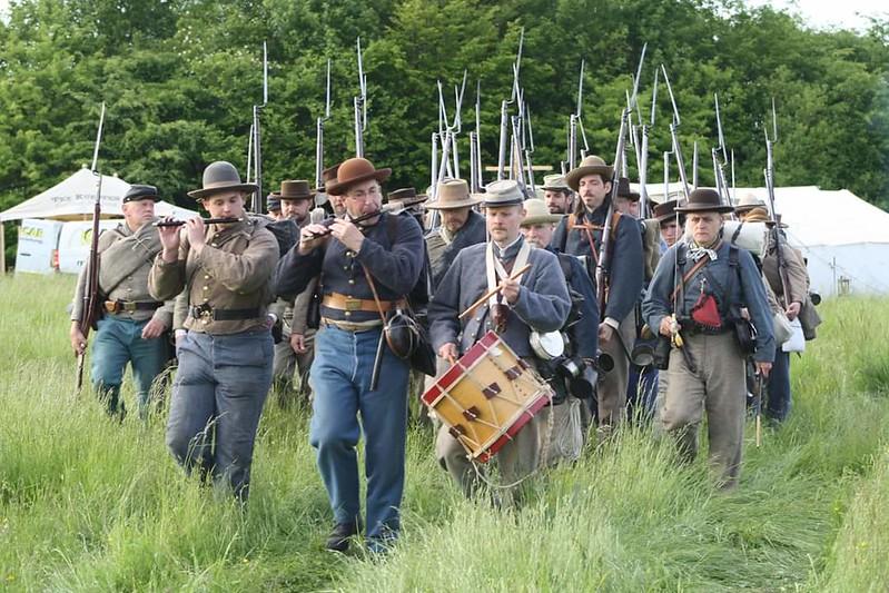 Guerre de Sécession côté Confédération. 48646246003_5d6306fd59_c