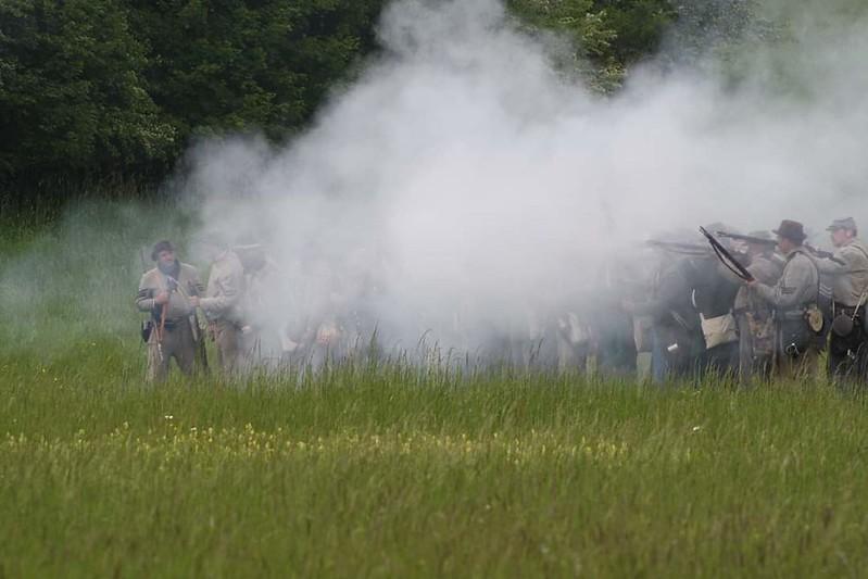 Guerre de Sécession côté Confédération. 48646246168_0417a1bd1c_c