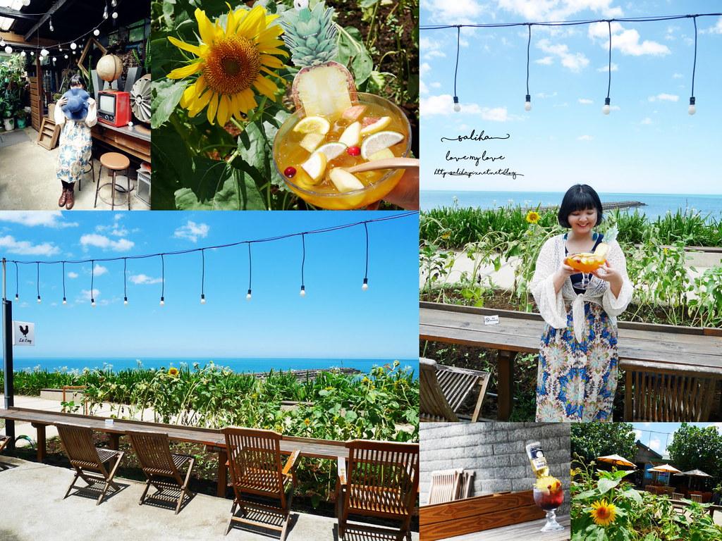 新北三芝淺水灣咖啡廳推薦le coq 公雞咖啡ig打卡拍照景點好拍