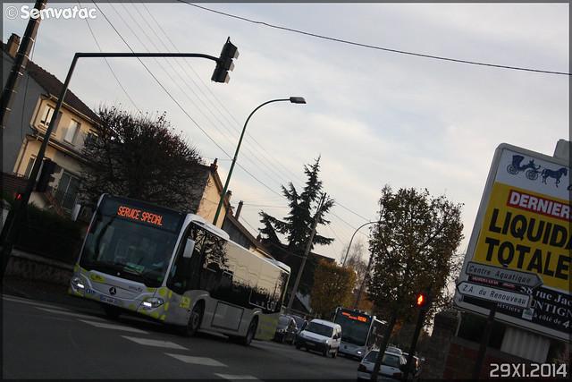 Mercedes-Benz Citaro C2 – Stivo (Société de Transport Interurbaine du Val d'Oise) / STIF (Syndicat des Transports d'Île-de-France) n°913