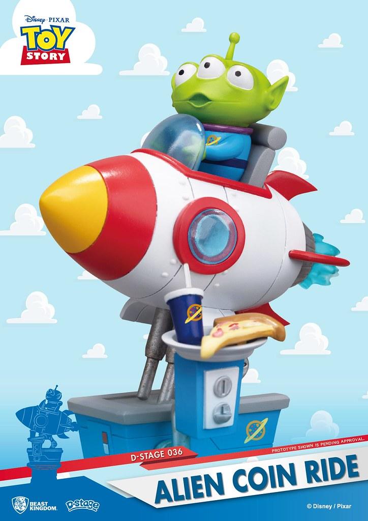 在玩樂的三眼怪也太萌~ 野獸國 夢-精選 系列《聖誕夜驚魂》《玩具總動員》兩款新作登場!D-Stage 035、036