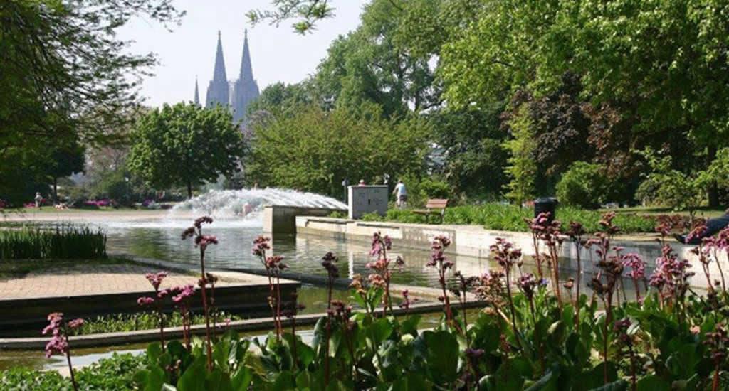 Rheinpark (foto met dank aan Visit Köln) | Mooistestedentrips.nl