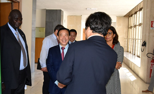 The New FAO Director General, Dr. Dongyu QU, at the IPPC Secretariat