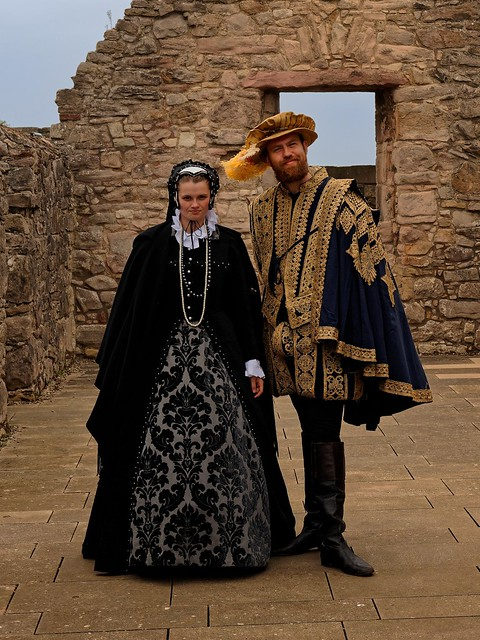 Edinburgh / Craigmillar Castle / Marie Stuart - Lord Darnley