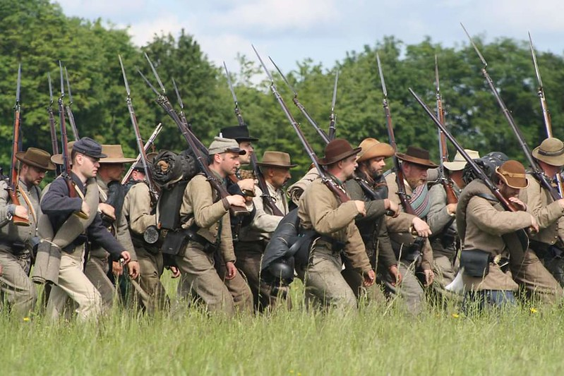 Guerre de Sécession côté Confédération. 48646607486_53076d0ff6_c
