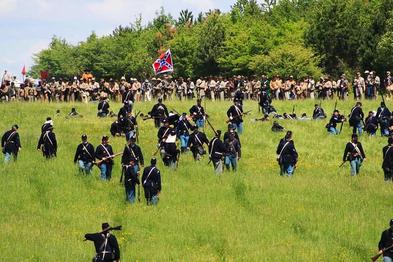 Guerre de Sécession côté Confédération. 48646607516_d9acd5461a_c