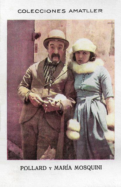 Snub Pollard and Maria Mosquini
