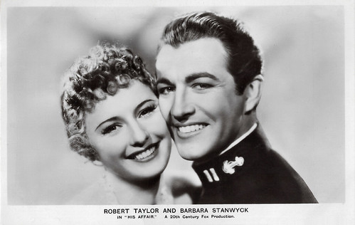 Robert Taylor and Barbara Stanwyck in His Affair (1937)