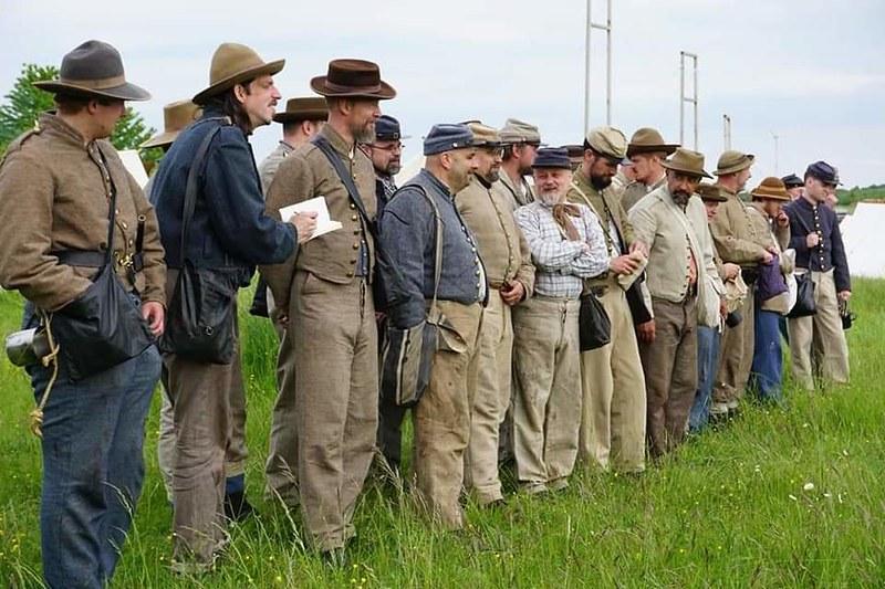 Guerre de Sécession côté Confédération. 48646741862_4bc7947bab_c