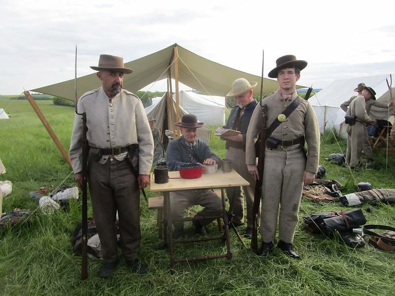Guerre de Sécession côté Confédération. 48646742042_c40144ec83_c