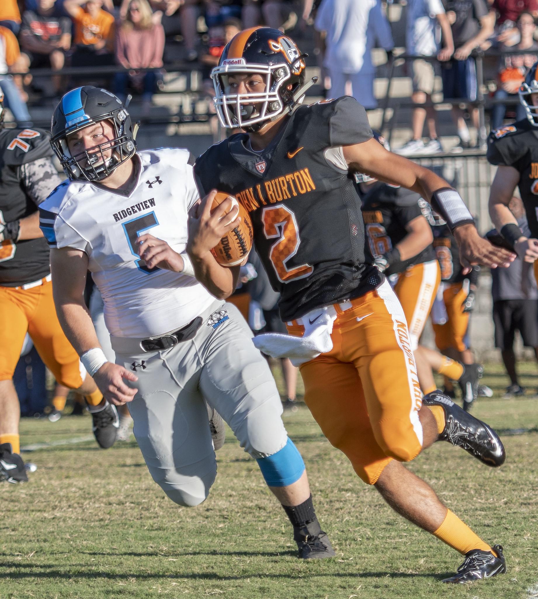 Ridgeview vs JI Burton Football