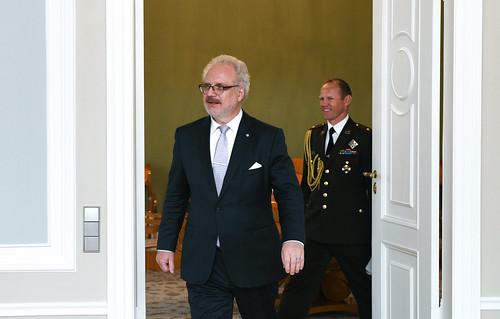Valsts prezidenta Egila Levita tikšanās ar Latvijas izglītības vadītāju asociācijas valdi