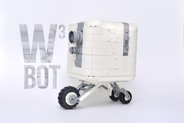 LEGO WHITE CUBE BOT - atana studio