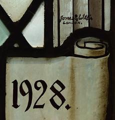 Jones & Willis, London, 1928