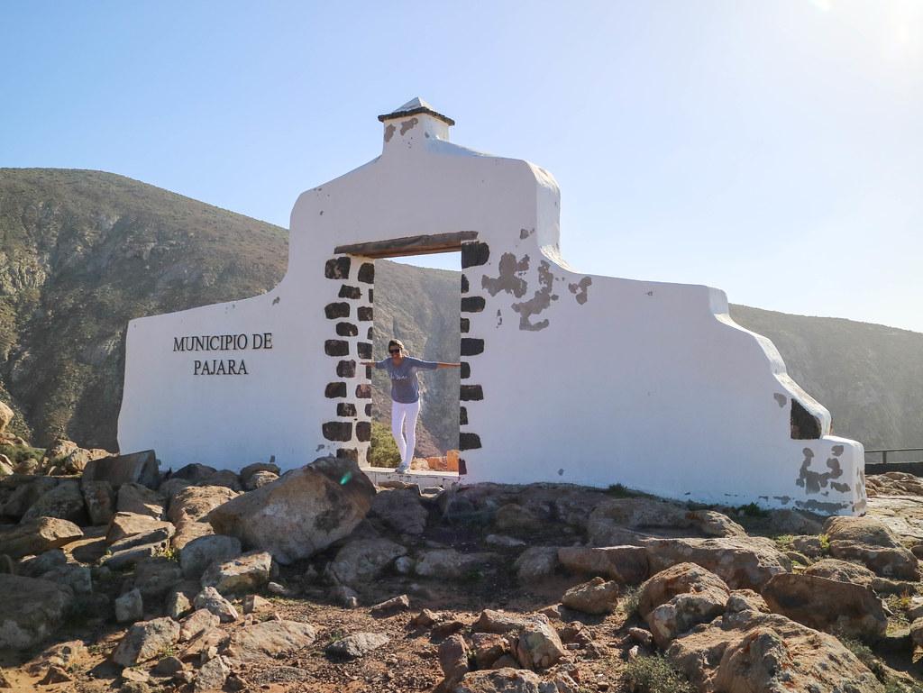 Entrada a Pájara en Fuerteventura