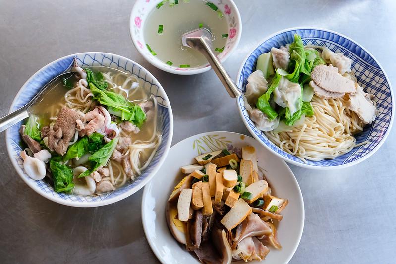 [美食] 台南 眼鏡仔麵攤 老饕才知道的無招牌古早味麵店!便宜好吃~ 高CP值小吃!