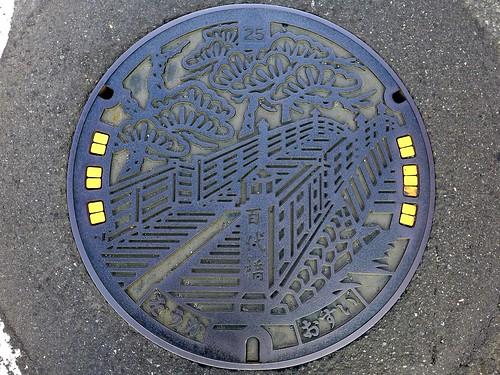 Soka Saitama, manhole cover (埼玉県草加市のマンホール)
