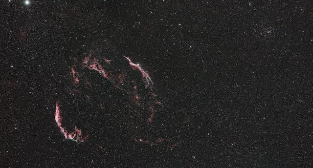The Cygnus Loop @ 135mm