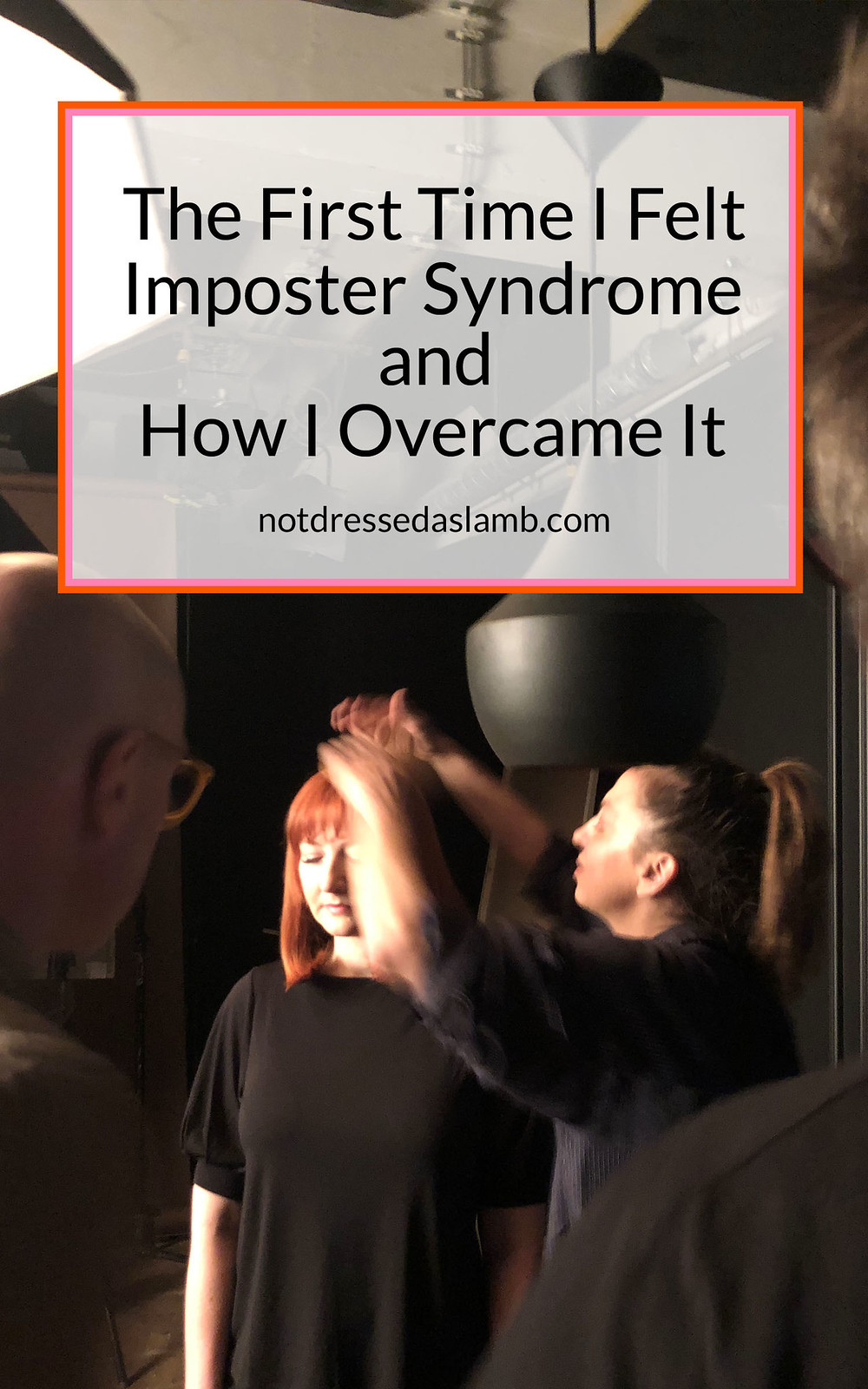 My Feelings of Imposter Syndrome at the L'Oréal TV Ad Shoot: Feelings of Imposter Syndrome and How I Overcame It | Not Dressed As Lamb, Over 40 Style Blogger