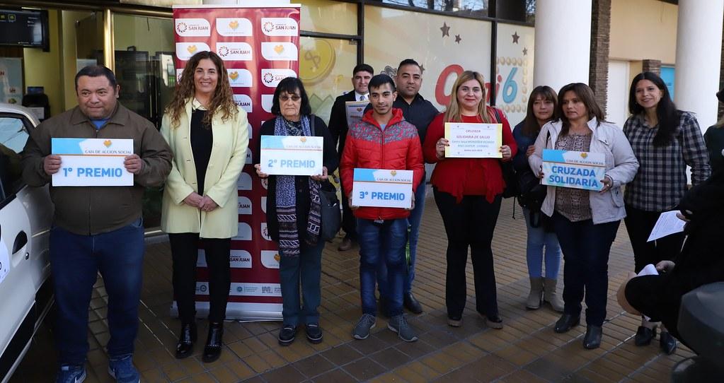 2019-08-30 PRENSA: La Caja de Acción Social Entrego los Premios Correspondientes a Julio de 2019