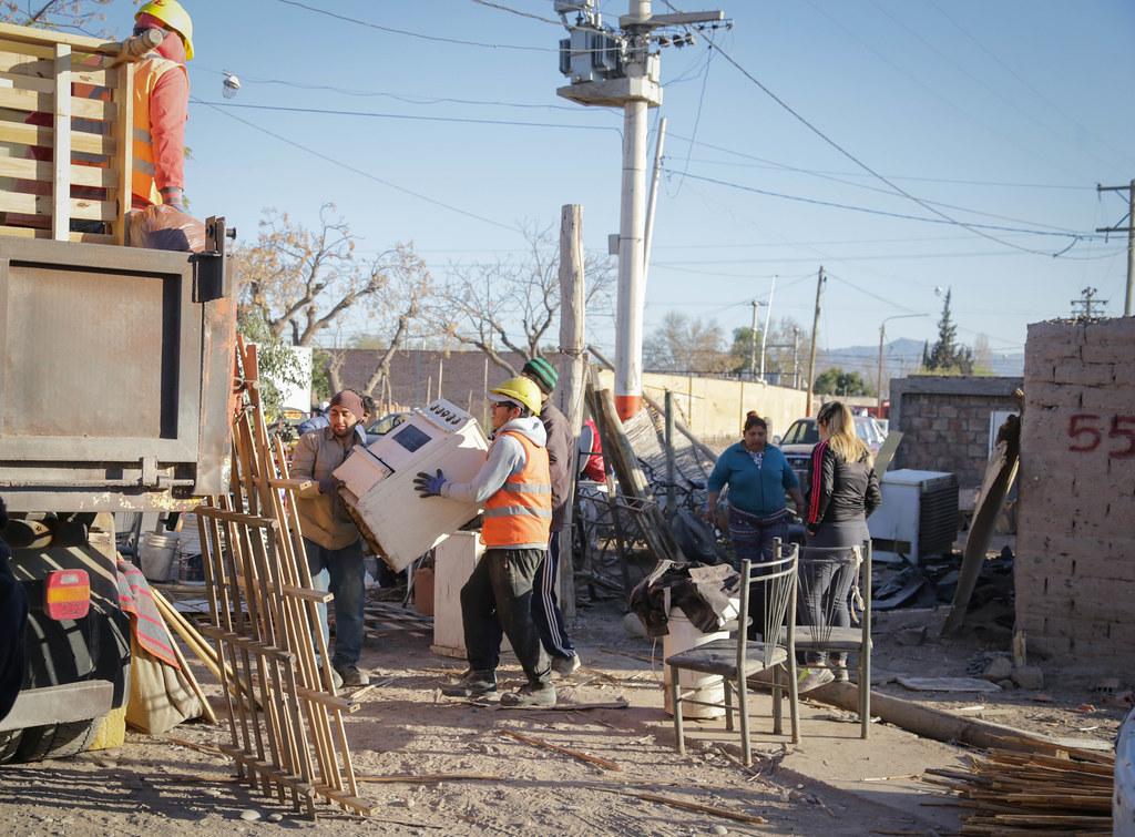 2019-08-30 PRENSA: Relocalización de Familias en el Departamento Chimbas