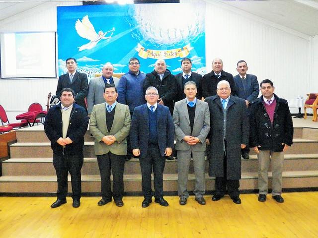 Segunda reunión organizacional UNIPECH Cañete, Lebu, Los Álamos