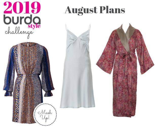 Burda Challenge Aug19 Meg Aug Plans