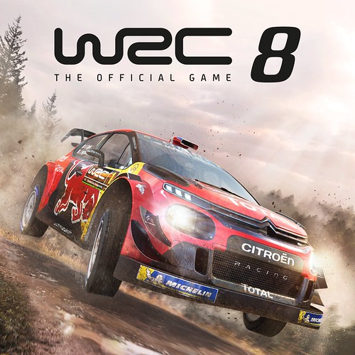 Thumbnail of WRC 8 FIA World Rally Championship on PS4