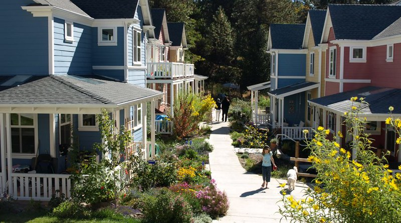 Nevada City cohousing
