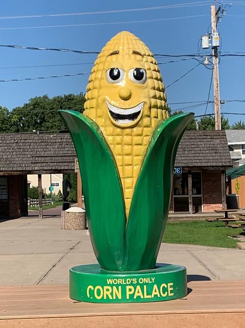 Corn Statue