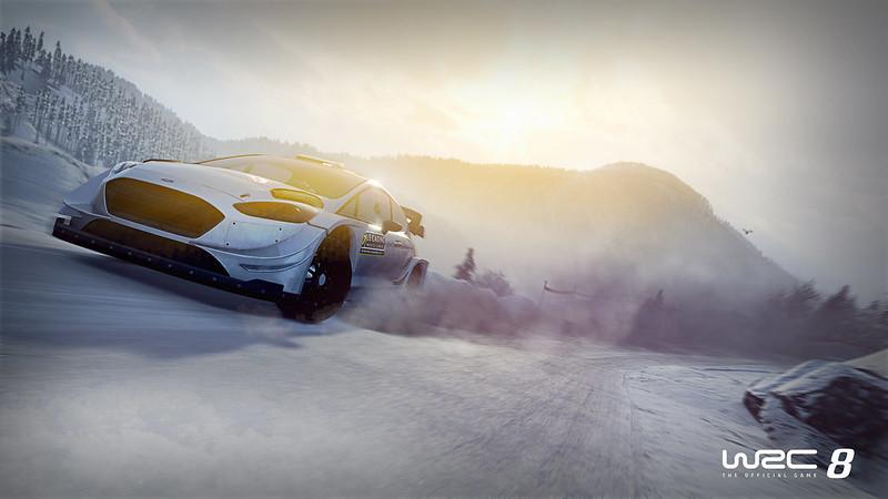 WRC 8 FIA World Rally Championship on PS4