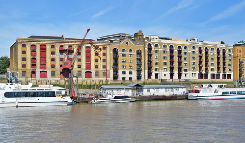 King Henry's Wharf and Gun Wharves, Wapping, London - 22 Aug 2019