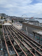 8/20/19 Viaduct removal is now showing the northern portal of BNSF train tunnel.