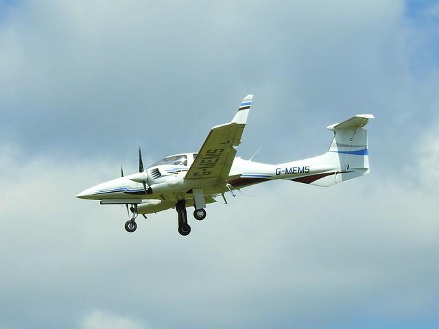 G-MEMS DA-42 training at staverton