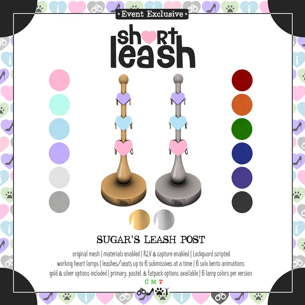 .:Short Leash:. Sugar's Leash Post