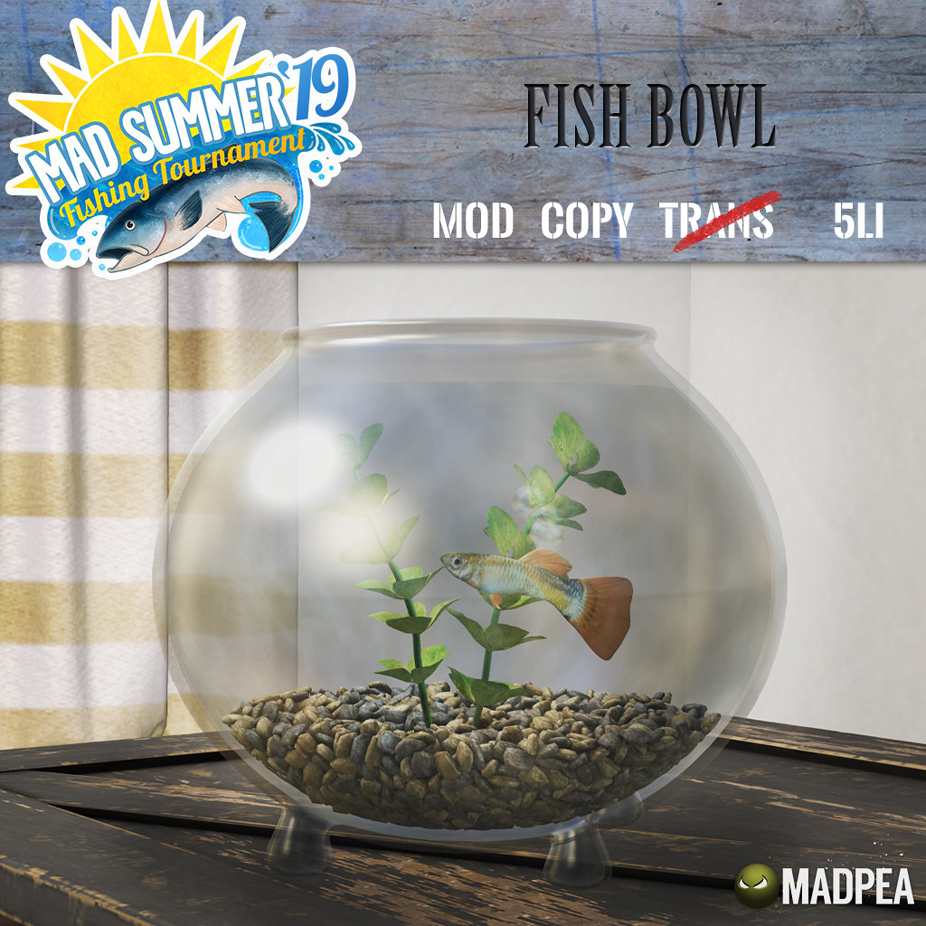 Fourth Prize Unlock: MadPea Fish Bowl!