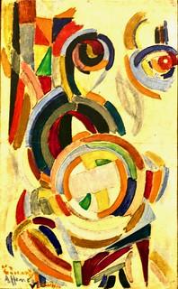 Study for Vila do Conde Lacemaker ((1916) - Eduardo Viana (1881-1967)