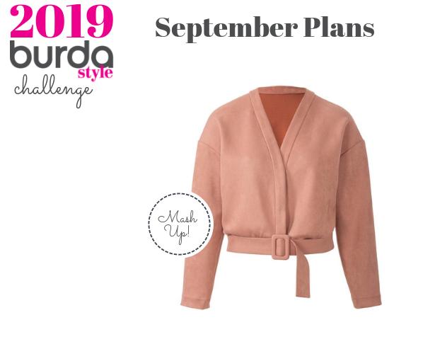 Burda Challenge Aug19 Meg Sept Plans