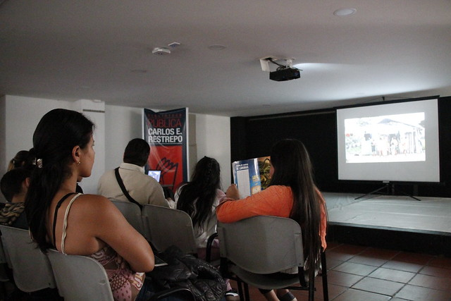 Cineforos en bibliotecas públicas. Biblioteca Carlos E. Restrepo