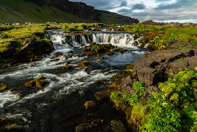 Waterfall (Sud of Iceland)