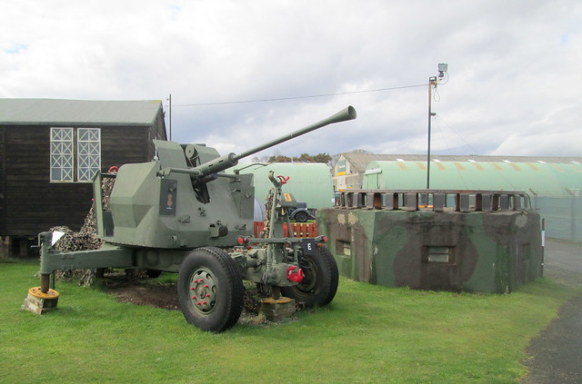 WW2 Artillery Piece, Montrose Air Station