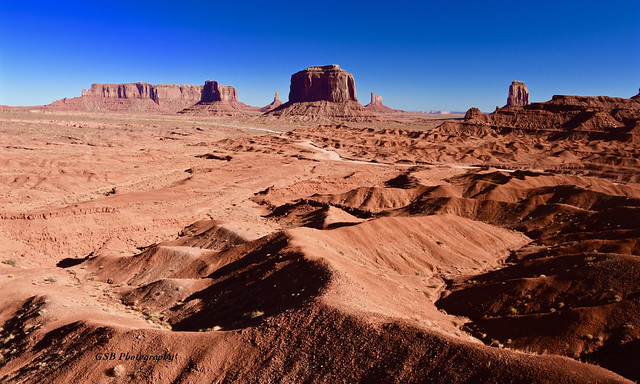 Monument Valley viewed from John Ford Point, Arizona