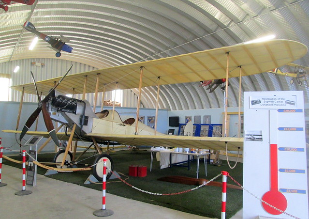 Replica BE2, Montrose Air Station