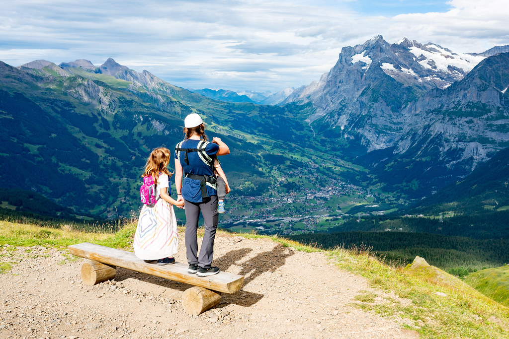 Overlooking Grindelwald