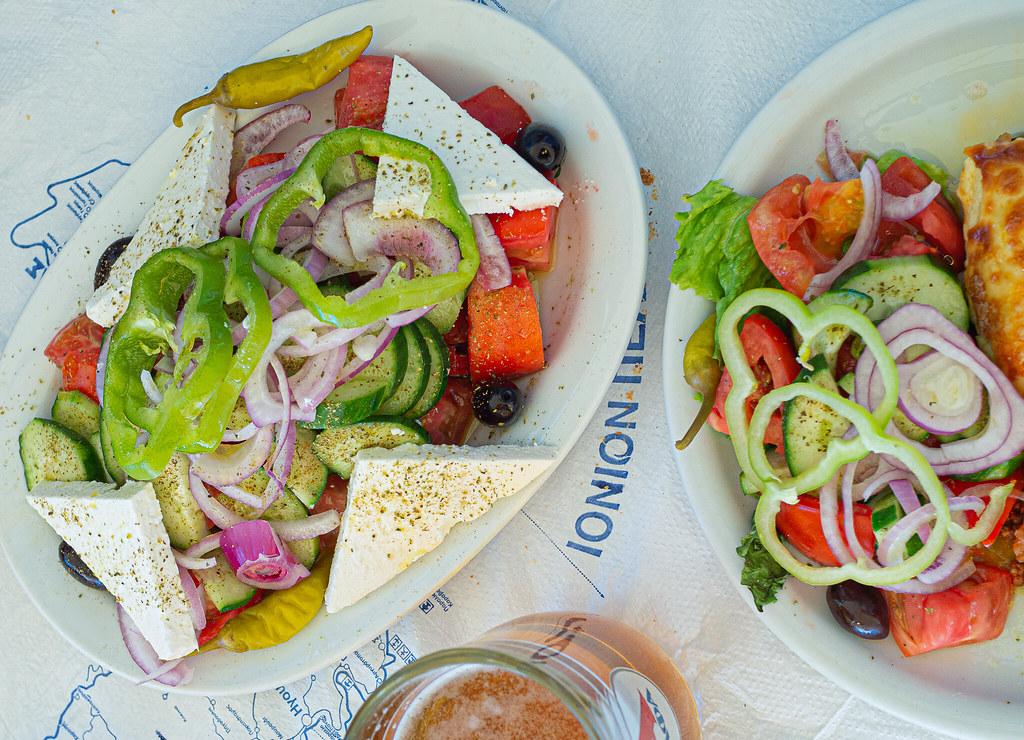 Kreikka-kreikkalainen salaatti