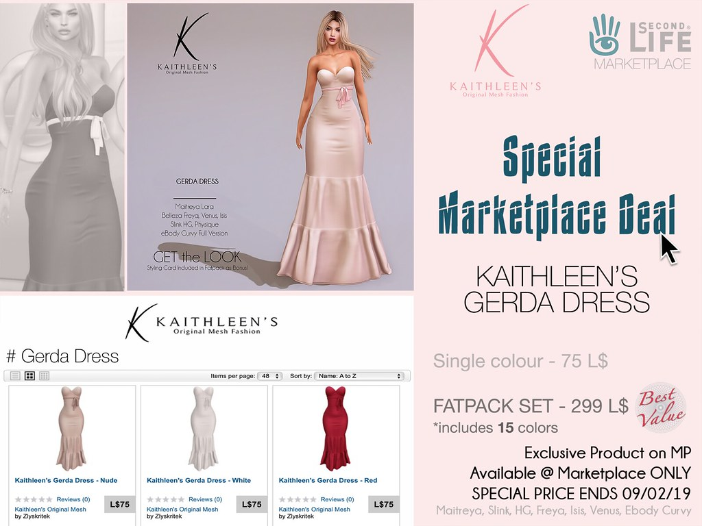 Kaithleen's Special Marketplace Deal – Gerda Dress